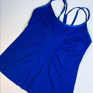 Zella tank with built in bra, M